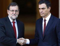 Vino y girasoles...: El gran acuerdo: ¿Pedro Sanchez le ofrecerá a Rajo...