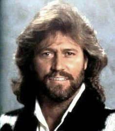 Barry Gibb- One of the best looking men of all time!  In my mind, he will be forever this age!