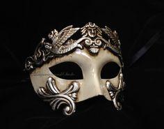 Mens Masquerade Mask for Men Roman Gladiator Thor - Masquerade Ball Mask for Man on Etsy, $32.95