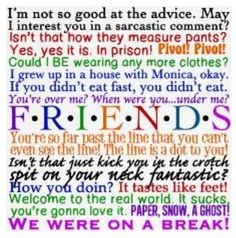 FRIENDS quotes love it