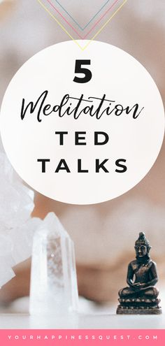 Five meditation TED talks to help you deepen your meditation practice and understanding of meditation. Live your best life with daily meditation. Mindfulness For Beginners, Meditation For Beginners, Meditation Techniques, Daily Meditation, Mindfulness Meditation, Mindfulness Therapy, Mindfulness Practice, Meditation Benefits, Meditation Practices