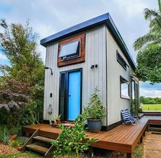 The Byron Tiny House Plans are Here! Modern Tiny House, Tiny House Plans, Tiny House Design, Tiny House On Wheels, Tiny House Movement, Tiny House Australia, The Byron, Byron Bay, Micro House