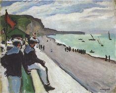 Albert Marquet, The Beach of Fecamp