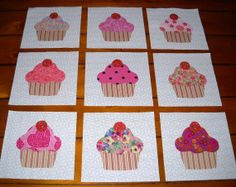 """Set of 9 quilt blocks 13.95...5 1/2"""" x 5 1/2"""" each ...shipping included....These make nice lap/baby quilts or wall hangings. You can buy directly from me. I accept Paypal, checks or money order.... marsyemark@sbcglobal.net"""