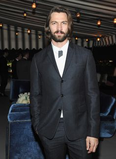 C Social Front. Dior Homme + GQ Men of the Year Dinner — Michiel Huisman