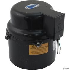 Blower, Air Supply Silencer, 1.0hp, 115v, 4.9A, Hardwire