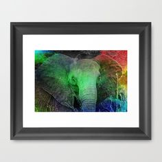 GET 20 % OFF with this link https://society6.com/christinebssler?promo=P864NXVCHTM4  Promotion expires December 5, 2015 at Midnight Pacific Time. *Free Shipping offer excludes Framed Prints and Canvas Prints   Buy Elephant Framed Art Print by Christine baessler. Worldwide shipping available at Society6.com. Just one of millions of high quality products available.