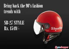 Old is Gold! shop@ http://www.yooshopper.com/product/16863/547/sb-27-style?lcId=145431#steelbirdhelmets #biker #travel