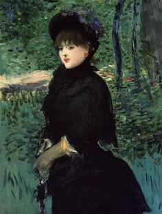 """The Promenade"", Edouard Manet (1832-1883, France)"