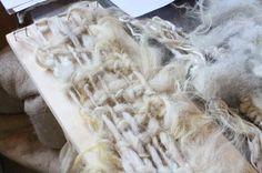 Claudy Jongstra -- loose frame weaving