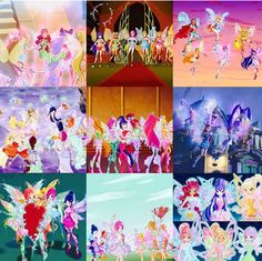 Transformation up to season 7 Desenhos Love, Bloom Winx Club, Childhood Movies, Season 7, Flora, Infinity, Cat, My Little Pony, Club