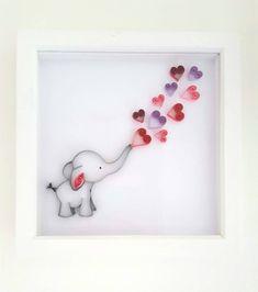 Elephant Nursery Artwork