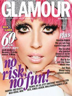 Lady Gaga Glamour magazine cover, March 2011