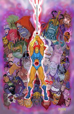 Thundercats Cartoon, He Man Thundercats, American Cartoons, 90s Cartoons, Chivas Wallpaper, Robert E Howard, Scarlet Spider, Favorite Cartoon Character, Sword And Sorcery