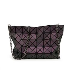 101606714763 fluorescence Women issey Miyake BAO BAO Bag Chain Crossbody Bag