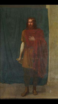 Gesaleico. Rey de los Visigodos (507-511). Protagoniza la retirada a Hispania  tras la derrota frente a los Francos en Vouillé.
