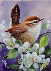 Art: Spring Lavenders by Artist Paulie Rollins