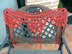 Crochet Collar, Crochet Poncho, Ronda, Crochet Wedding, Crochet Borders, Tribal Fusion, Belly Dance, Chanel Boy Bag, Collars