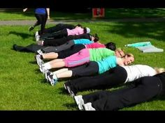 Outdoor Group Exercise Ideas - YouTube