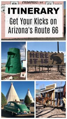 Itinerary: Arizona Road Trip on Historic Route 66 Itinerary: Family Road Trip Across Arizona's R Route 66 Road Trip, Travel Route, Road Trip Hacks, Road Trip Usa, Travel Usa, Travel Tips, Travel Destinations, Travel Hacks, Travel Advice