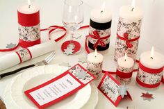 Sellotape : Stunning Christmas Table setting by Sellotape DIY