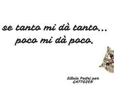 quindi... se tanto mi dà tanto... #attrazione #gatto #zen #saggio #crescitapersonale #spiritualità #love #amore #felicità #happy #life #vita #feelsafe #testesso  #libertà #successo #creatività #gattozen