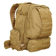 Condor 3 Day Assault Pack - Coyote | Military | Military Bags | Luggage | Bags