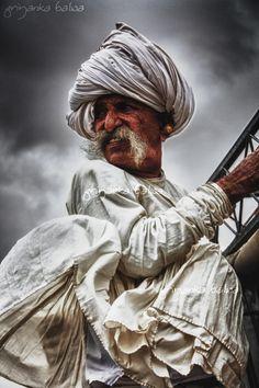 Villager. Kutch, Gujarat, India by Priyanka Balwa