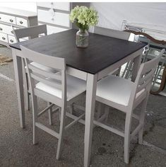 """Fantastic """"high top tables kitchen"""" info is readily available on our web pages. Check it out and you will Fantastic """"high top tables kitchen"""" info is readily available on our web pages. Check it out and you will not be sorry you did. Tall Dining Room Table, High Table And Chairs, High Top Table Kitchen, Painted Kitchen Tables, High Top Tables, Kitchen Table Makeover, Pub Kitchen Table, Texas Kitchen, Dining Set"""
