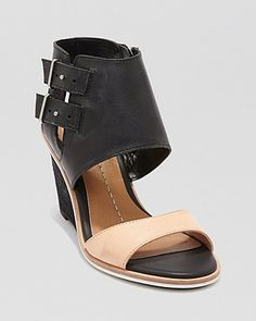 Dolce Vita Open Toe Wedge Sandals - Cambria | Bloomingdale's