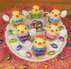 Chicks crochet pattern