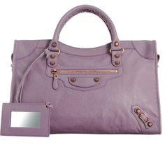 Purple Balenciaga.