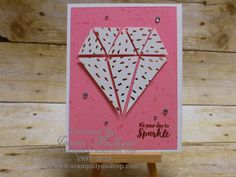 Made with the July 2016 Paper Pumpkin kit. Created by Joanne Mulligan, Independent Stampin' Up! Demonstrator.