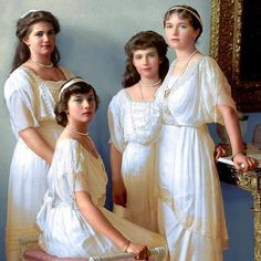 Romanov Sisters, Anastasia Romanov, Queen Victoria Prince Albert, Grand Duchess Olga, Royal King, Imperial Russia, Prince And Princess, Fashion Beauty, Beauty