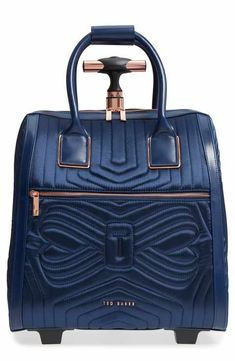 c53df015c07f Ted Baker London Anisee Quilted Wheeled Travel Bag Simple Bags