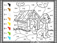 additions color by numbers addition coloring pages best of free printable numberorksheets thanksgiving math number worksheets colour Math Coloring Worksheets, Addition Worksheets, Number Worksheets, Preschool Worksheets, Math Activities, Color By Numbers, Math Numbers, Thanksgiving Math, Math Facts