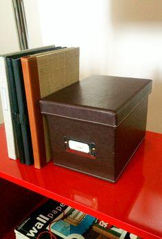 Leather CD Box