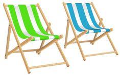 Beach Chairs PNG Clip Art