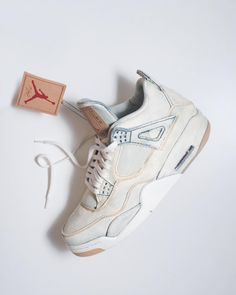 e850cc77ca0a9f This Custom Will Tempt You to Bleach Your Levi s AJ4s - Sneaker Freaker  Jordan Iv