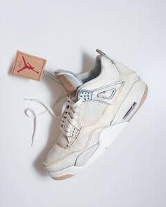 b91711f0935c This Custom Will Tempt You to Bleach Your Levi s AJ4s - Sneaker Freaker  Jordan Iv