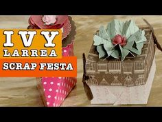 DIY - Scrapfesta (Ivy Larrea) - YouTube