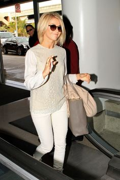 Julianne Hough Photos - Julianne Hough at the Airport in LA - Zimbio
