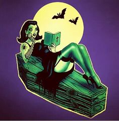 Halloween and psychobilly image