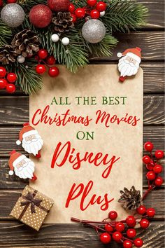 The Best Christmas Movies On Disney Plus In 2020 Best Christmas Movies Disney Plus Christmas Fun