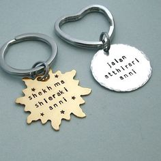 "Dothraki His and Hers Keyrings | 27 Items Every Die Hard ""Game Of Thrones"" Fan Should Own"