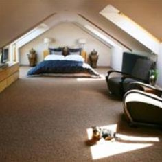 My new obsession. Loft bedrooms.