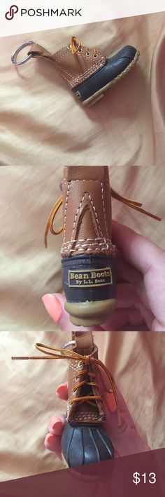 ~Like New~ L. L. Bean Bean boot duck boot keychain ~Like New~ L. L. Bean Bean boot duck boot keychain. love this key chain but I had too many to fit on my key ring :/. super cute!! L.L. Bean Accessories Key & Card Holders
