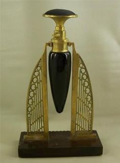 Art Deco Early Patented Perfume Bottle / eBay by Brenda Brashar