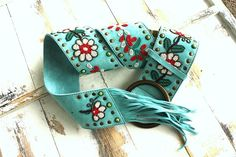 Tasha Polizzi Spring 2015 Spanish Trail Beaded Belt!  Turquoise Cowgirl Chic, Cowgirl Style, Tammy Love, Western Belts, Belts For Women, Spring 2015, Belt Buckles, Headbands, Turquoise