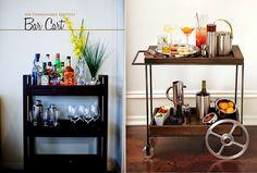 ideias para organizar um bar em casa